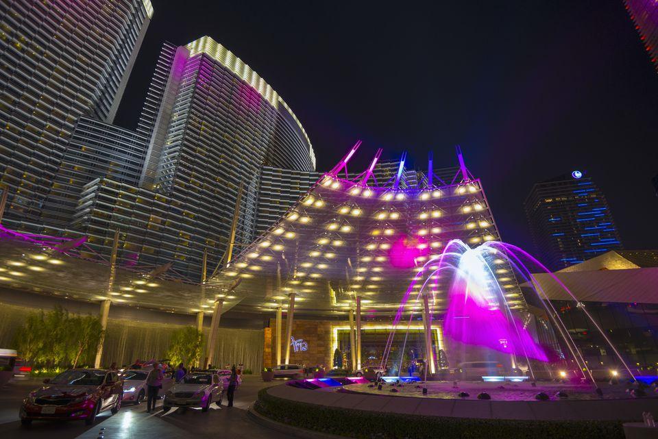 USA, Nevada, Las Vegas, The Strip, CityCenter, Aria Resort and Casino
