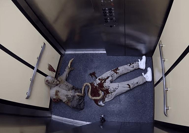 zombie prank video