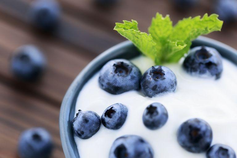 Greek yogurt is high in calcium.