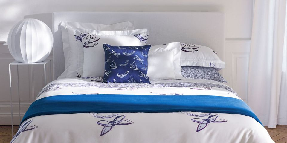 Luxury bedding from Yves Delorme