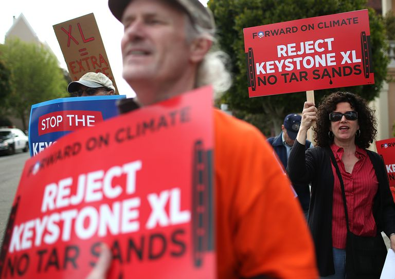 Keystone XL Pipeline Protest