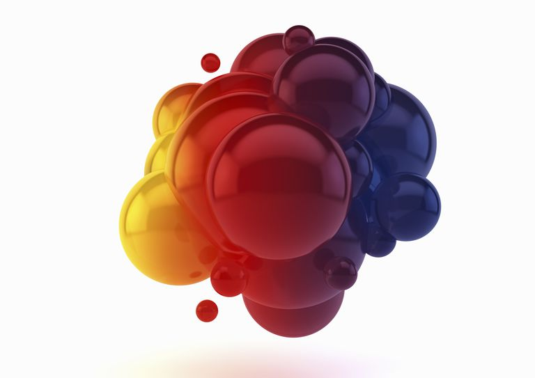 Soap bubbles can be colored using a pH indicator solution. The bubbles will change color in air.