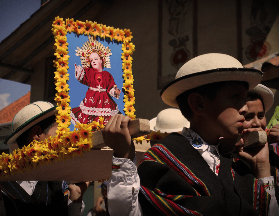 The Pase del Niño Viajero in Cuenca, Ecuador