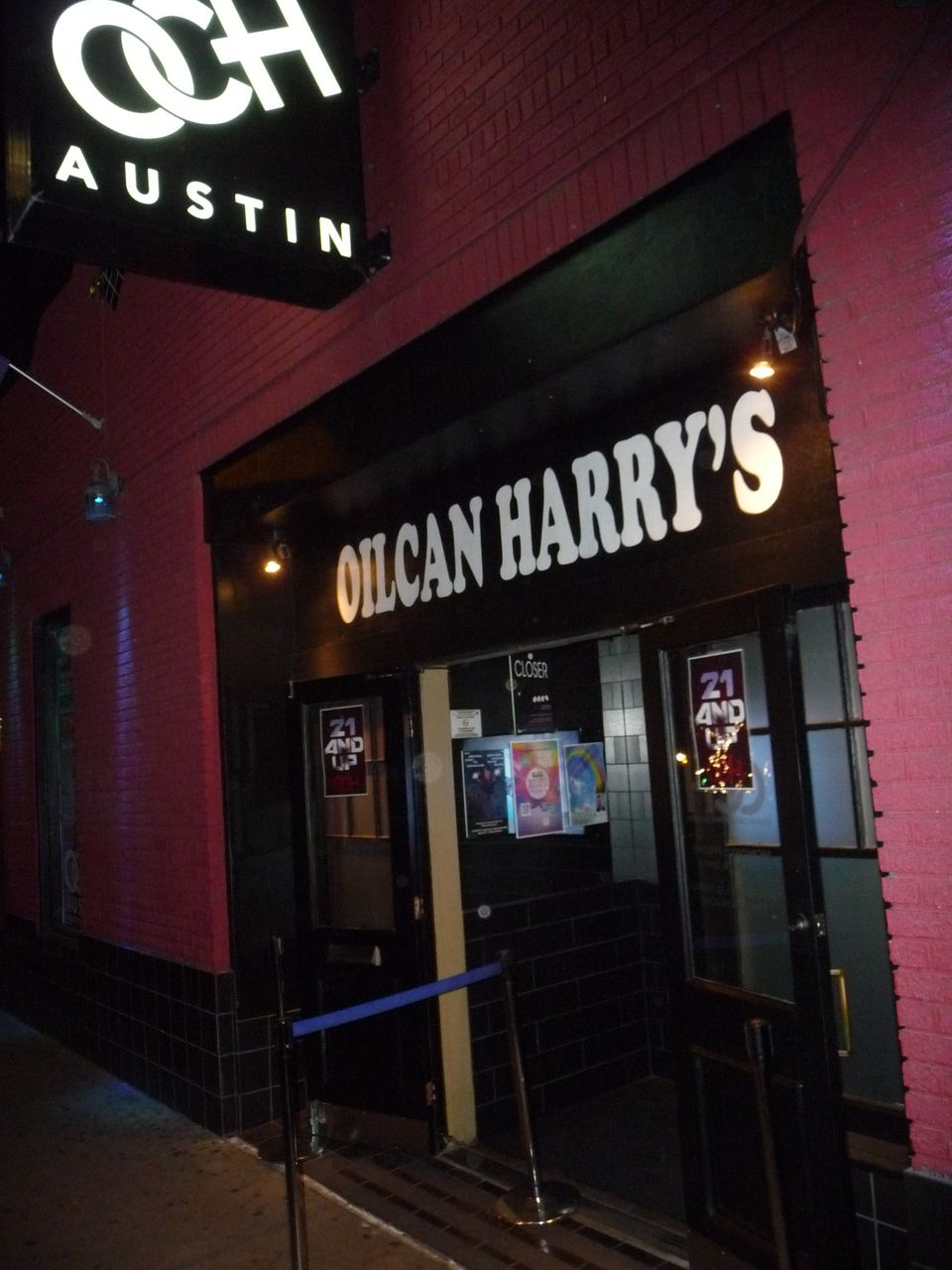 Oilcan Harry's Austin TX