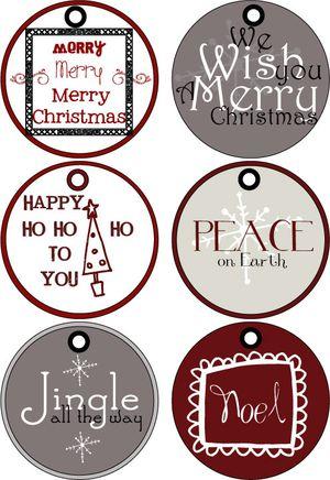 41 sets of free printable christmas gift tags printable christmas gift tags at poppies at play negle Images