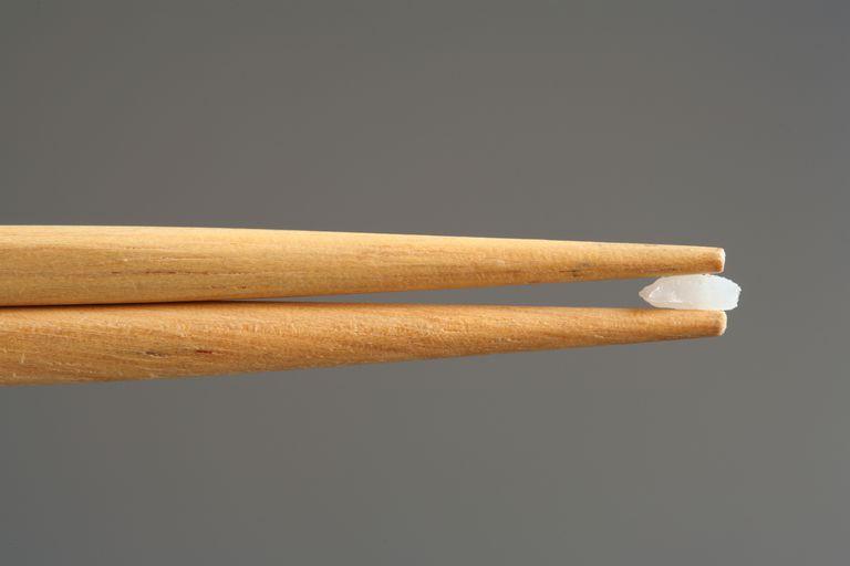 Single Rice Grain / Chopsticks