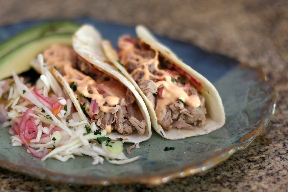 Pulled Pork Tortillas
