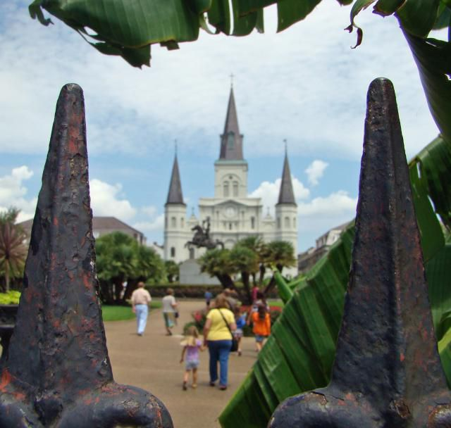 Jackson Square is among the most photographed spots in New Orleans.