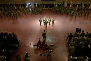 The Eighth United States Army In Korea Assumes New Commander