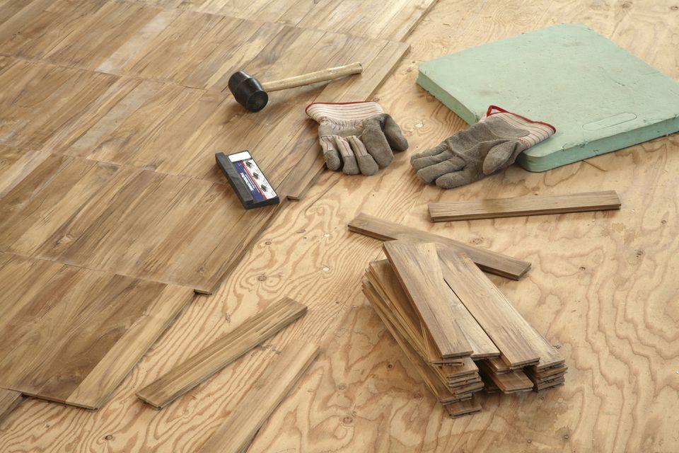Plywood Underlayment