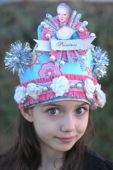 New Years Hats, New Year's Eve, party, kids, children, hat, new years, Marie Antoinette, birthday