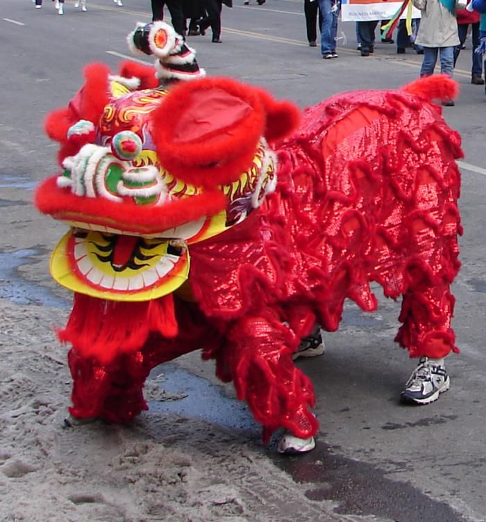 chinese mythical beast - Chinese New Year Dc