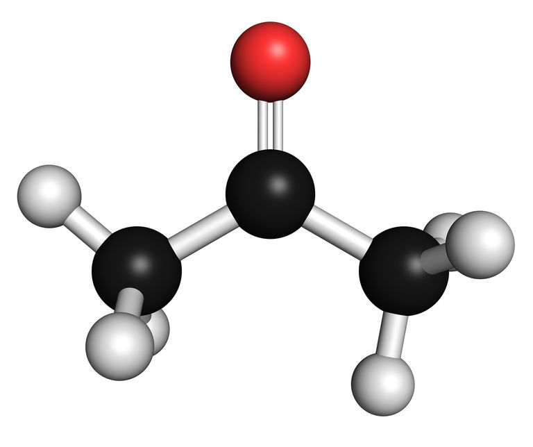 Acetone is an important molecule starting with the letter A.