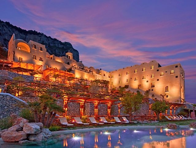 Monastero Santa Rosa on the Amalfi Coast of Southern Italy.
