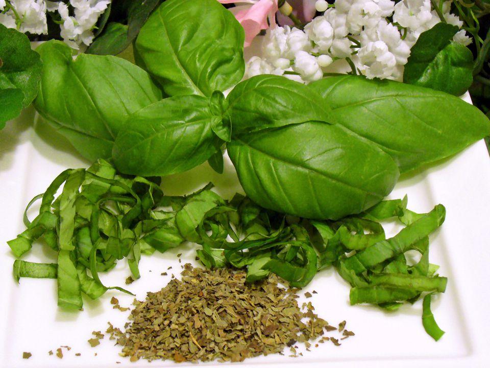 fresh, basil, herb, recipes, cut, dried, receipts