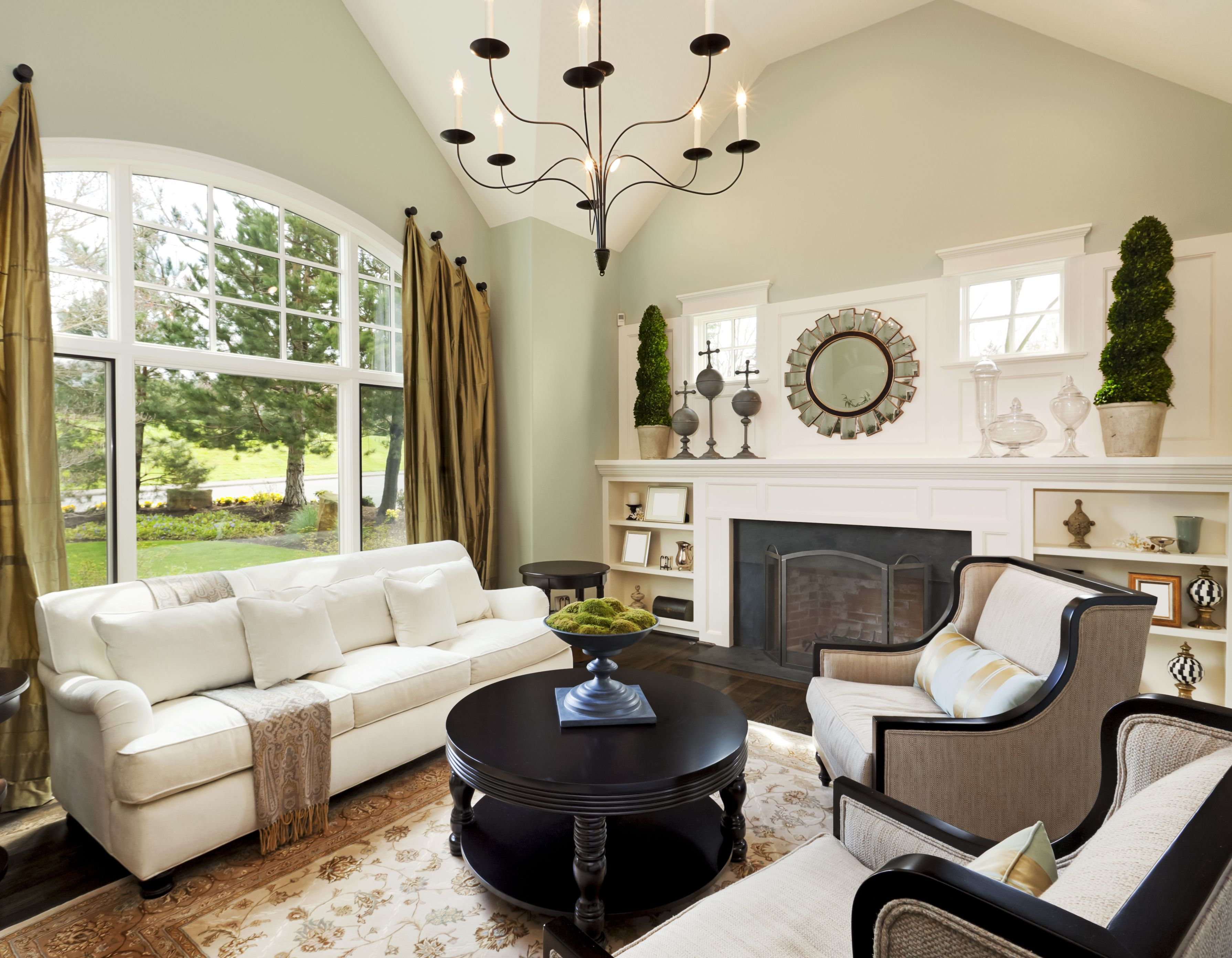 how to decorate your home room by room - Interior Design Living Room Ideas