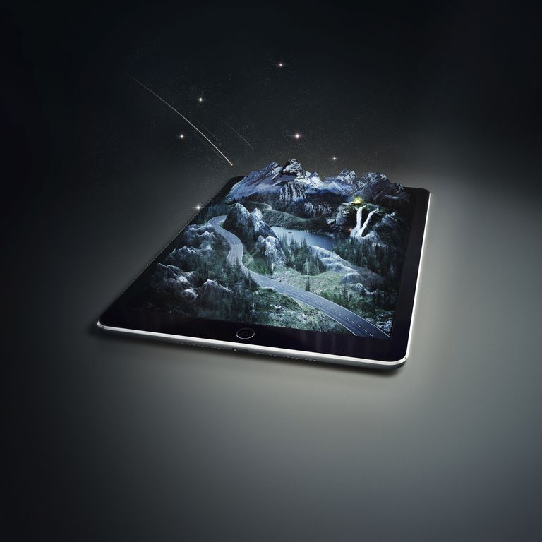 3D image on tablet