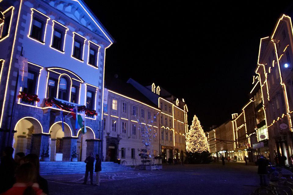 Christmas Ljubljana, Slovenia