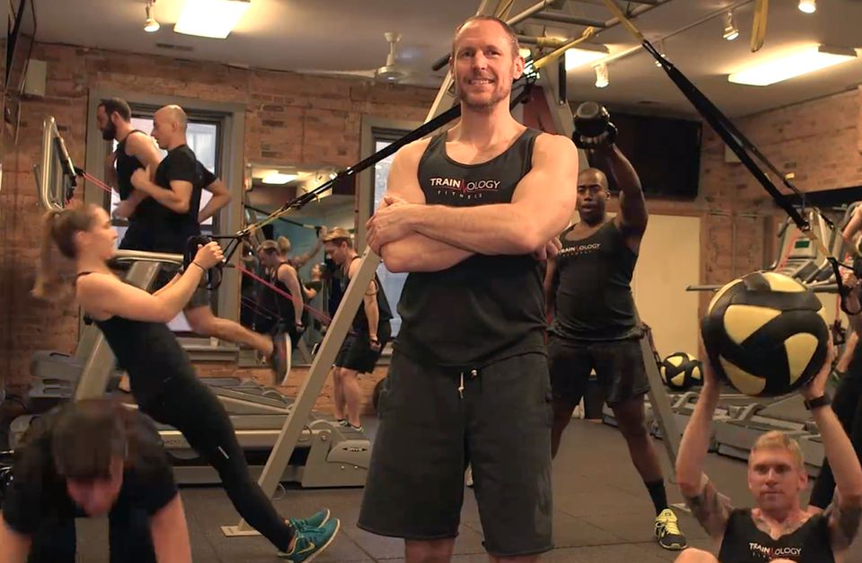 Michael Wollpert at Trainology Fitness