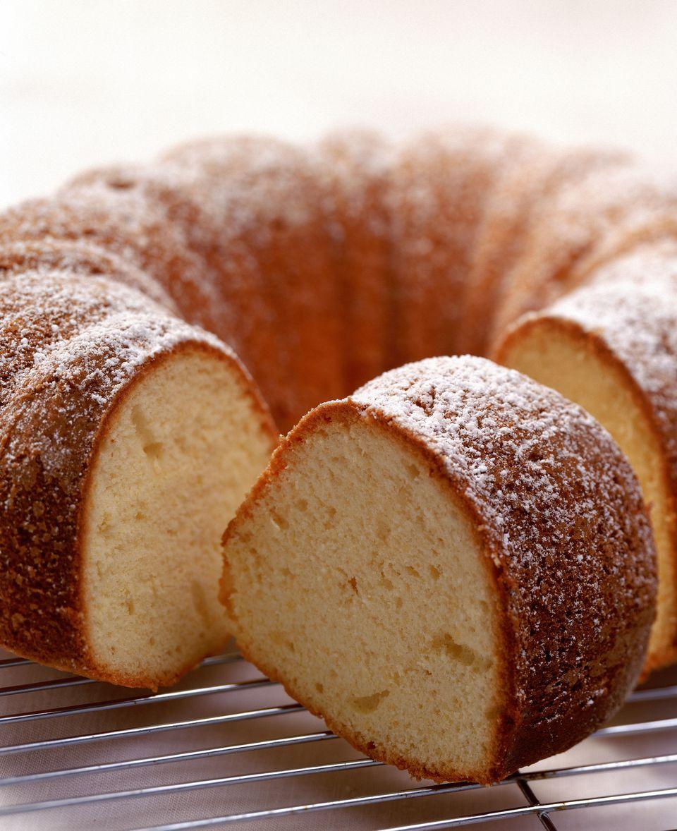 Fresh bundt cake