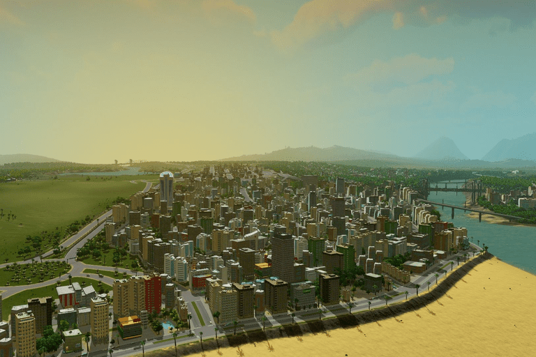 Screenshot of the Cities: Skylines building game