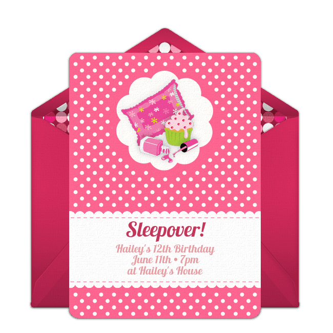 15 Free Printable Sleepover Invitations She Ll Love