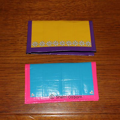 How to Make a Duct Tape Checkbook Cover