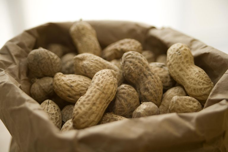 Fresh roasted peanuts are good for your health.
