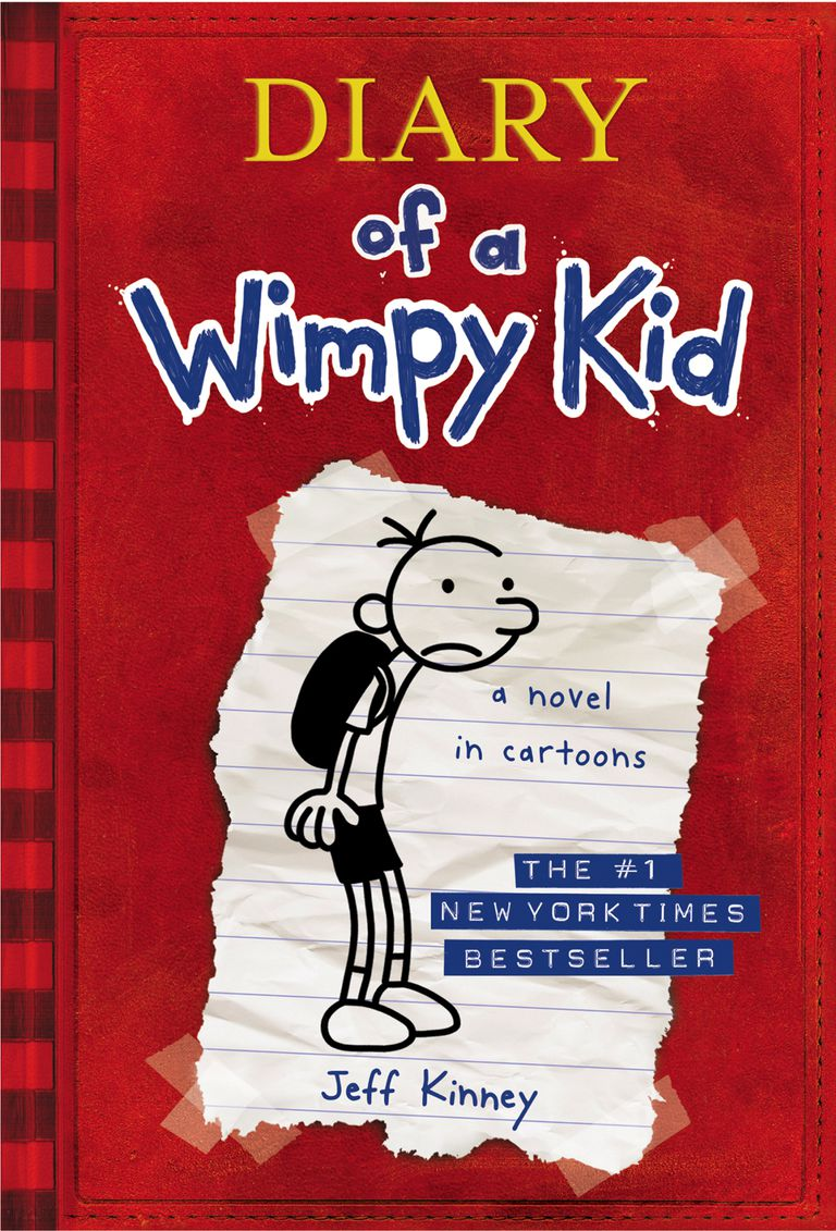 Diary of a wimpy kid book one in popular series diary of a wimpy kid cover of book one solutioingenieria Choice Image