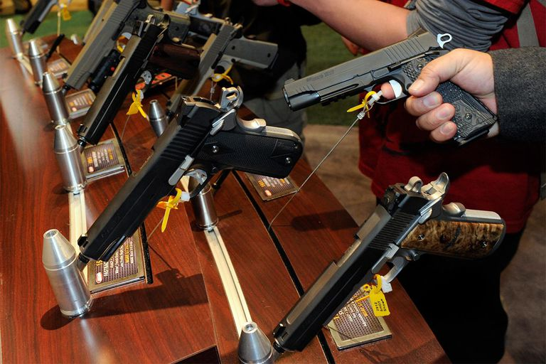 National Shooting Sports Foundation Hosts Gun Expo Show In Las Vegas