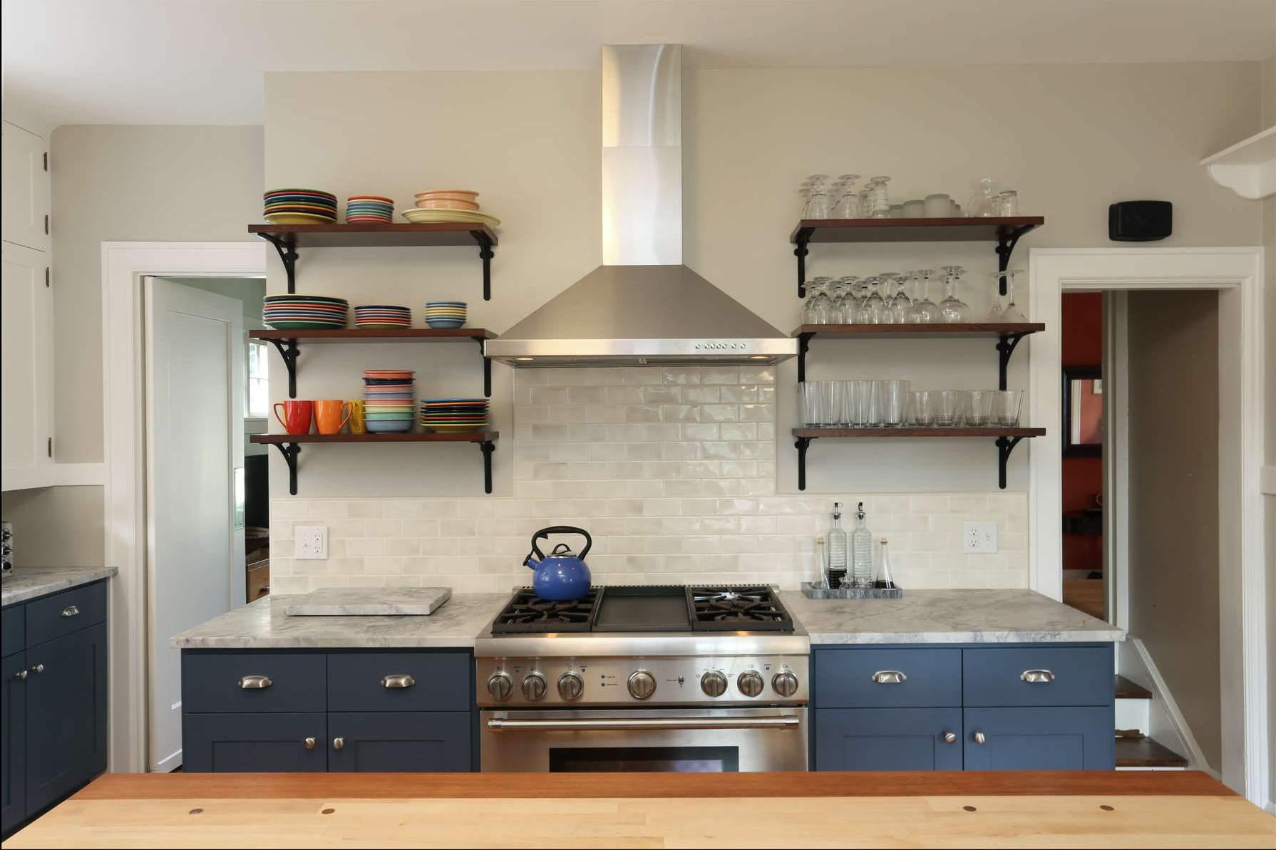 deaft blue west kitchen arch cabinets cabinet