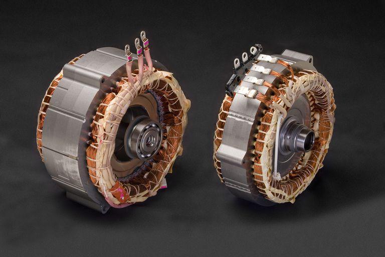 Prius pancake motor/generators