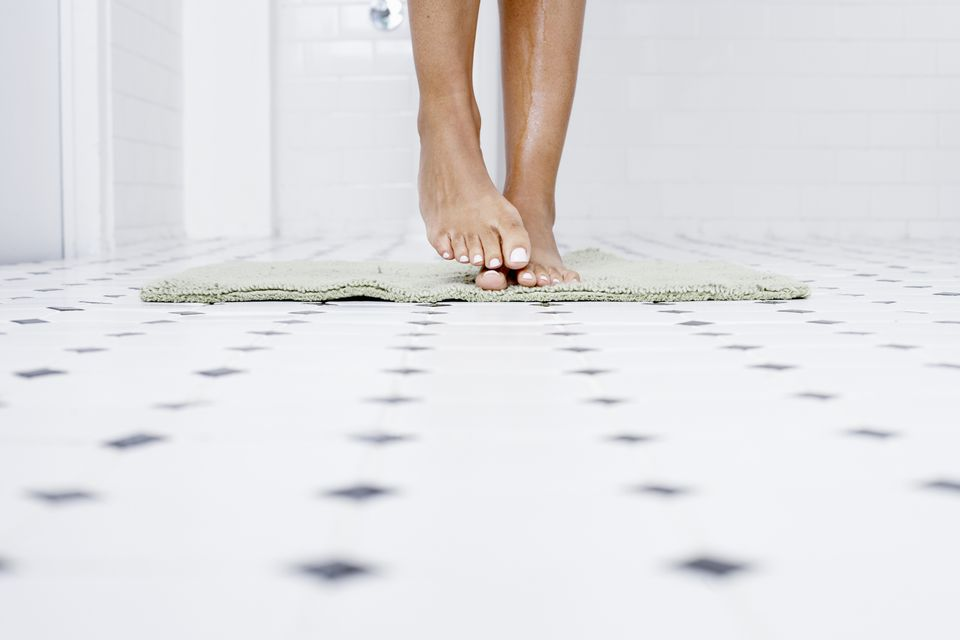 Flooring for a Small Bathroom
