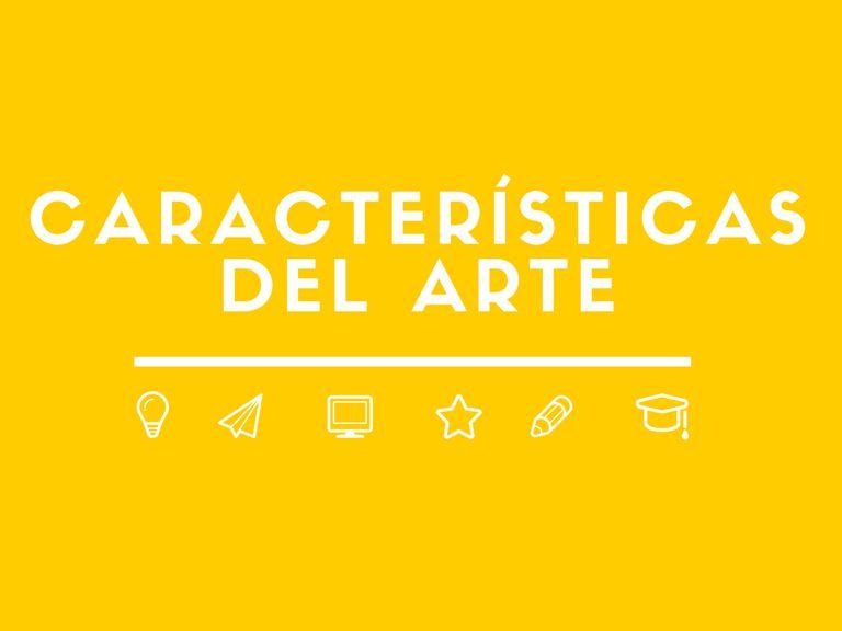 Caracteristicas del arte