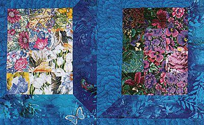 Watercolor Quilt Pattern