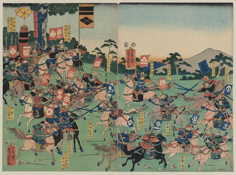 SamuraiBattleKawanakajima1857UtagawaYoshikazuLOC.jpg