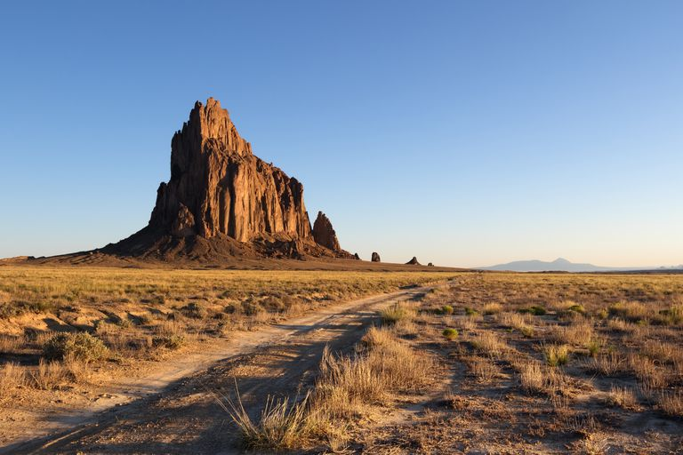 Shiprock at Sunrise, New Mexico