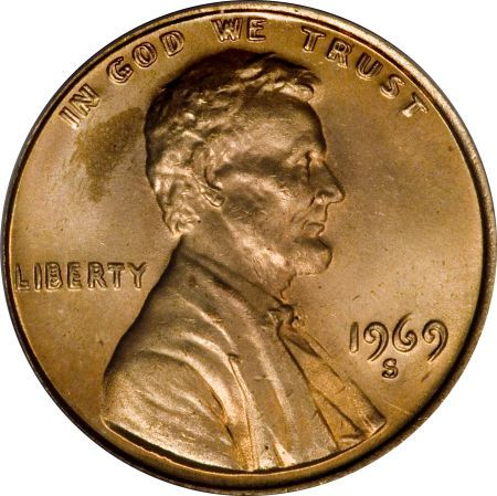 Valuable Coin 1 - 1969-S Doubled Die Cent