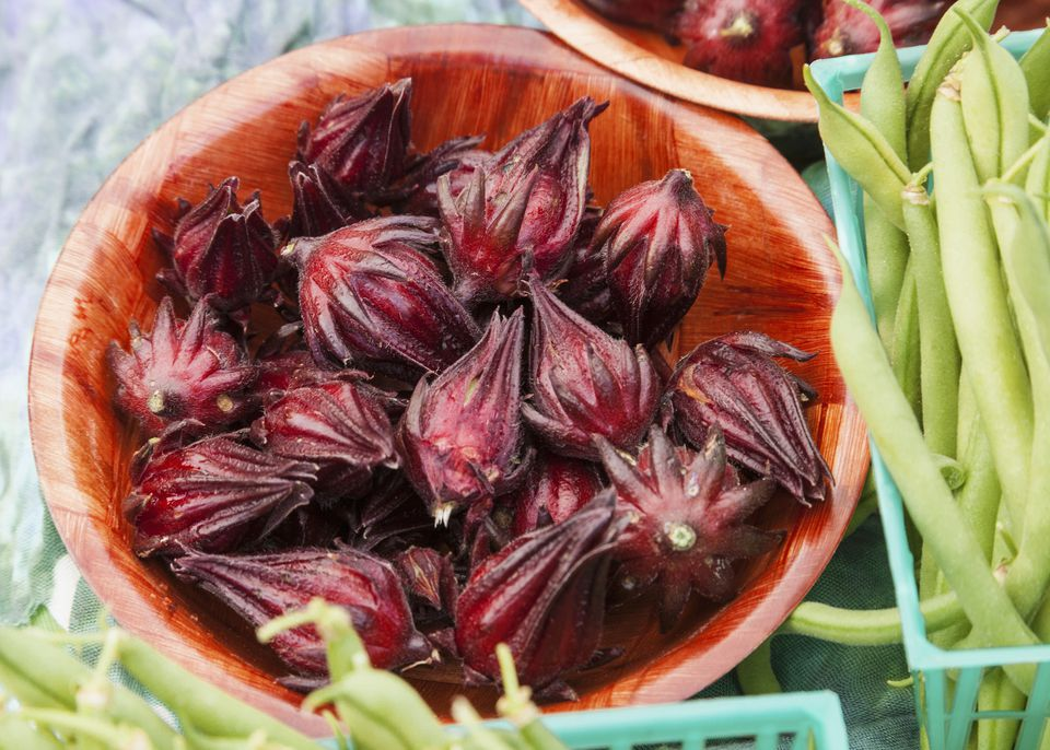Hibiscus Flower Buds for Making Tea