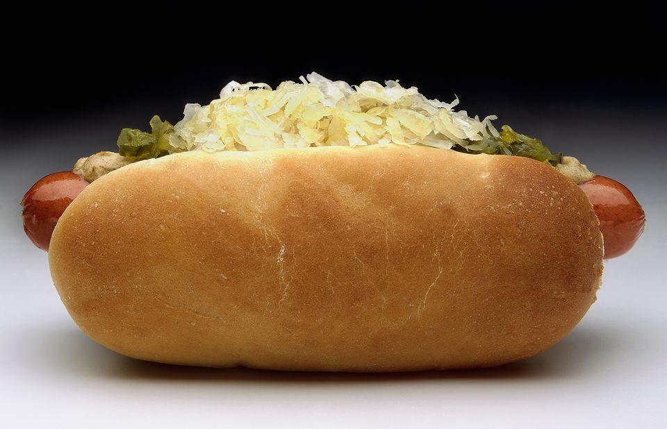 Sauerkraut Hot Dog Topping