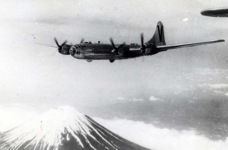 B-29 Superfortress during World War II