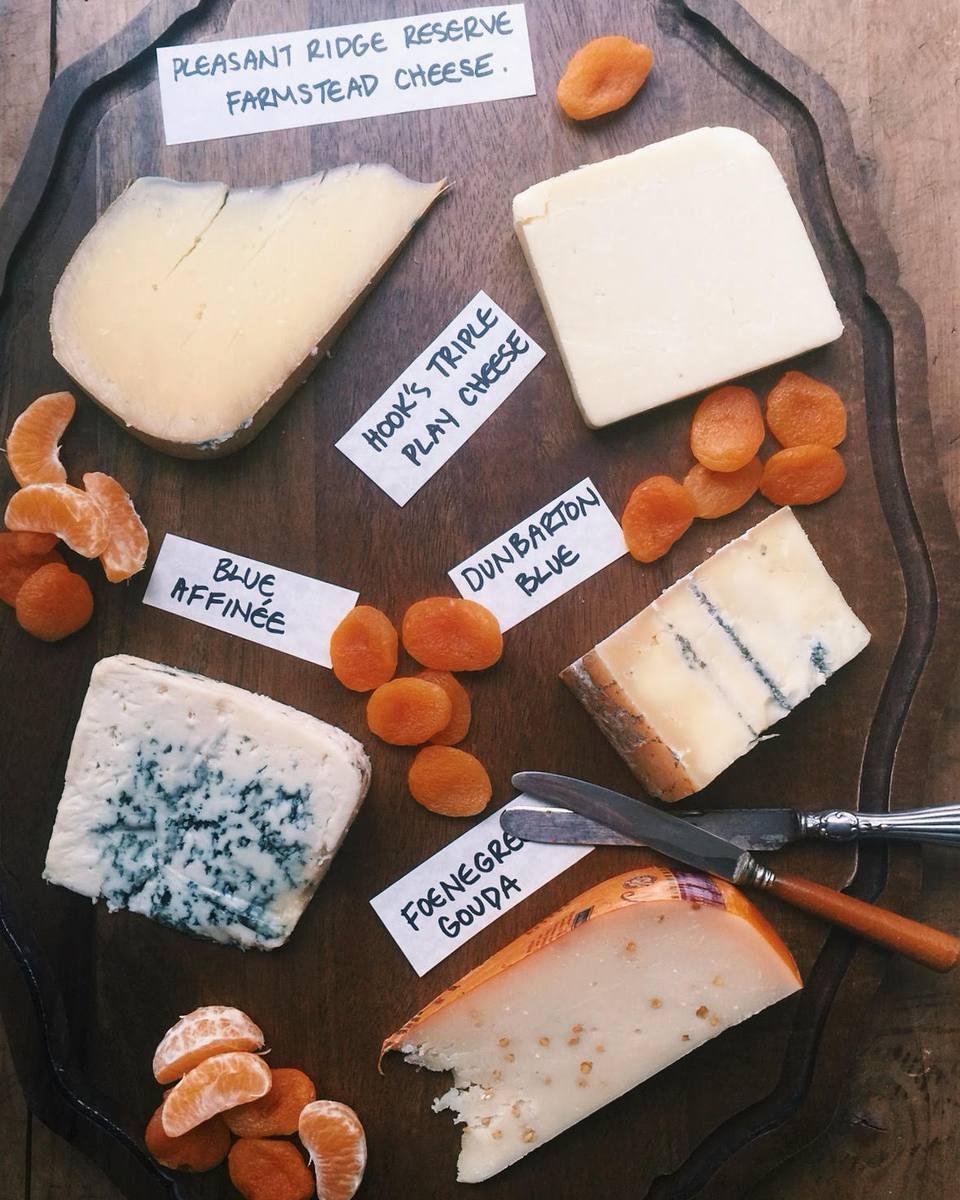 Wisconsin Cheese Board