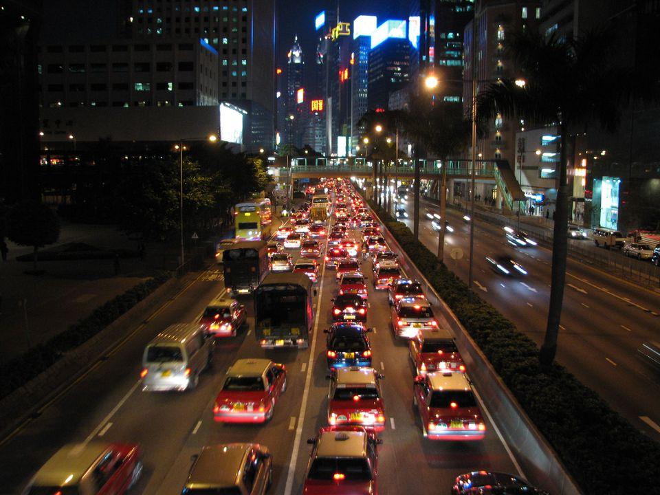 Hong Kong Traffic Jam