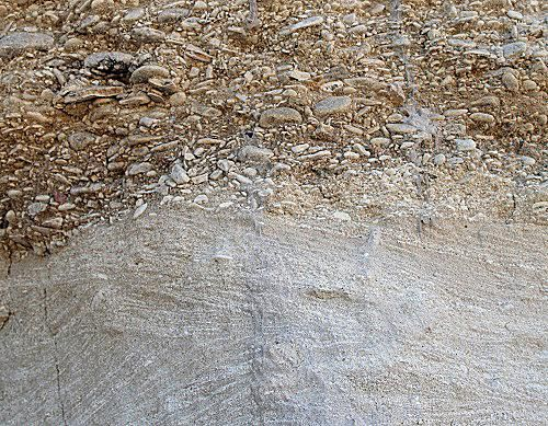 Water-handled sediment