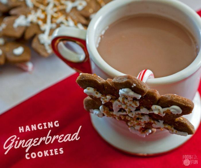 gingerbread mug cookies