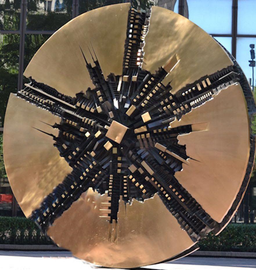 Charlotte's Public Art: Il Grande Disco