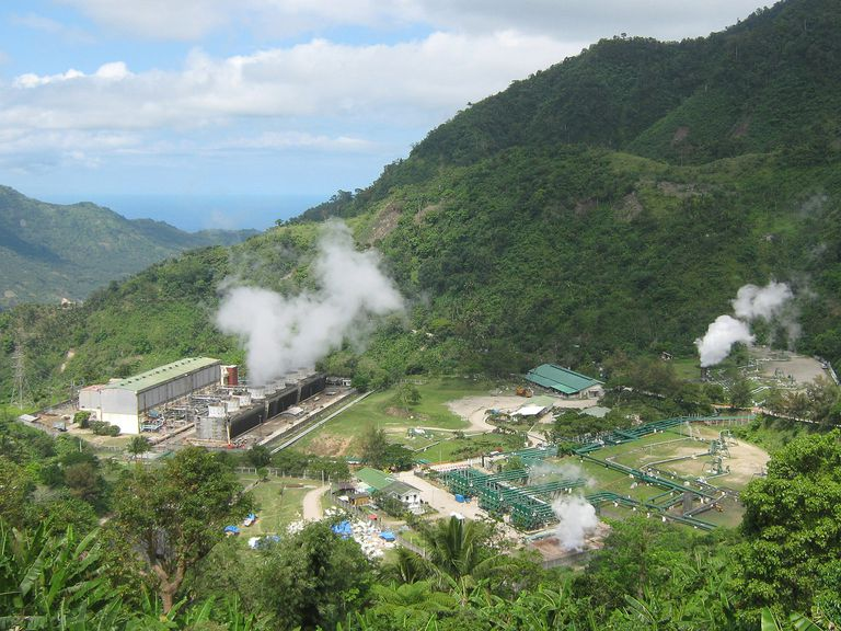 Geothermal Plant Philippines