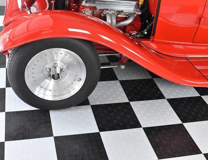 Insulating Garage Floors Plywood And Rigid Foam