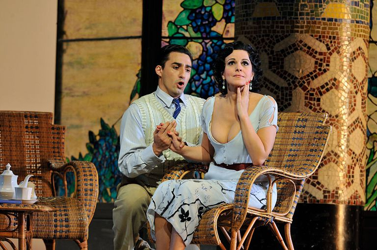 Giacomo Puccini's La Rondine directed by Nicolas Joel and conducted by Marco Armiliato