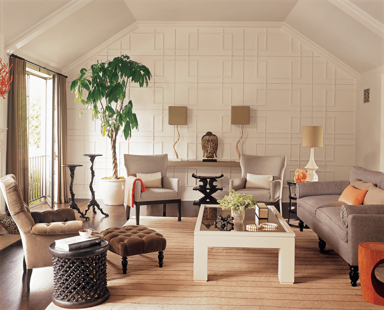 accent wall designs living room.  16 Living Rooms With Accent Walls